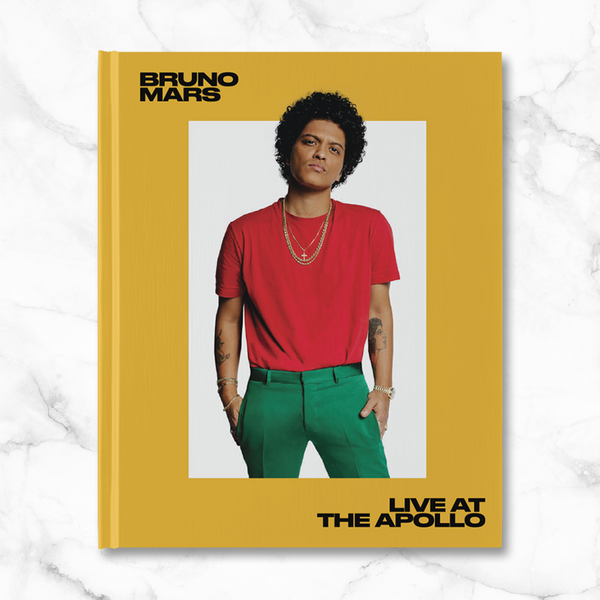 'Live at the Apollo' Hardcover Book