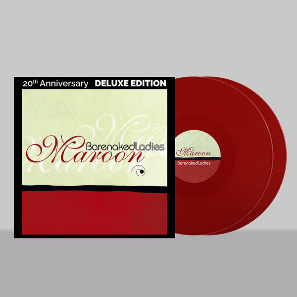 [PRE-ORDER] Exclusive Maroon 20th Anniversary Deluxe Edition (Red) Vinyl