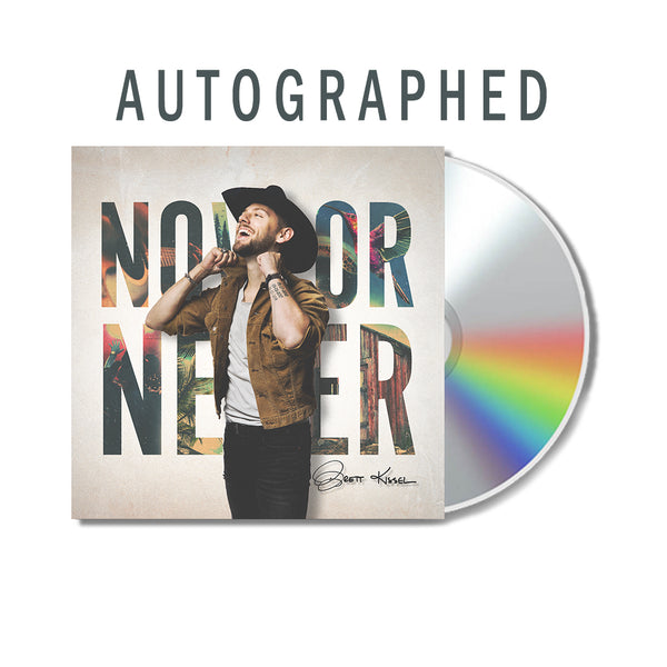 Autographed Now Or Never CD