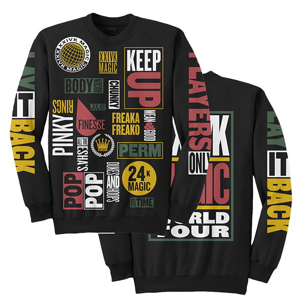 World Tour Crewneck (2018 Edition)