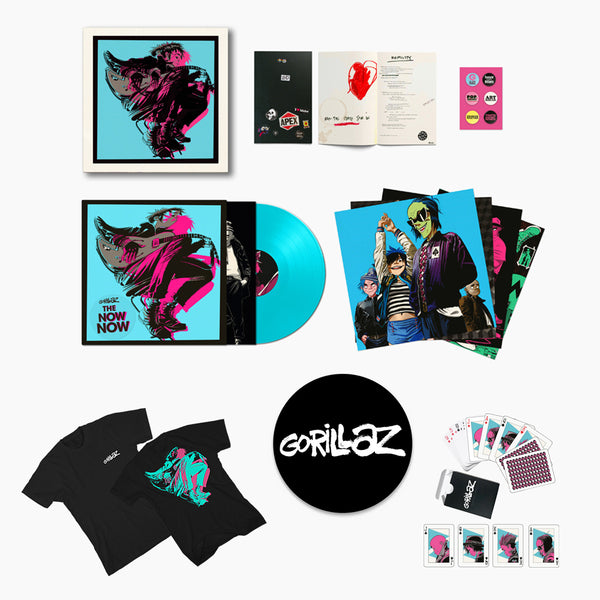 The Now Now Box Set + T-Shirt + Cards + Slipmat