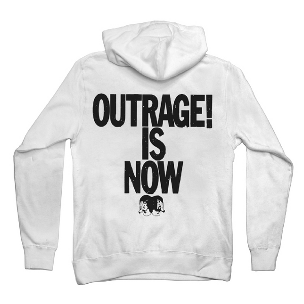 Outrage! Is Now Pullover Hoodie
