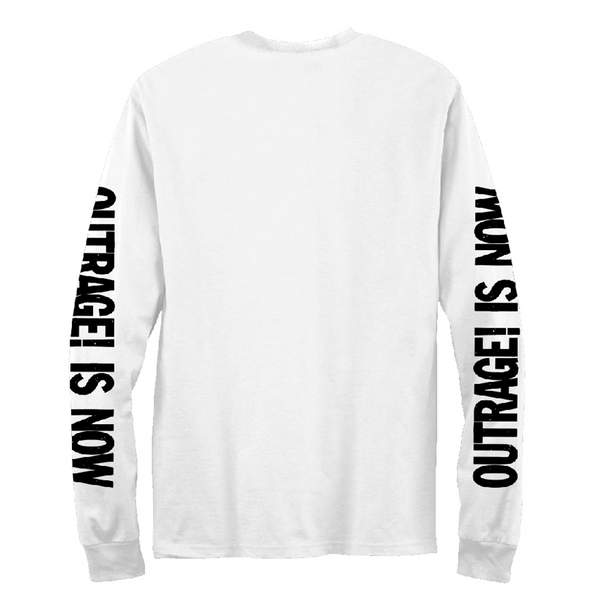 Outrage! Is Now Long Sleeve T-shirt