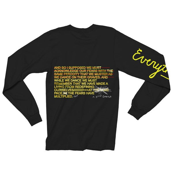 EVERYTHING SUCKS LONG SLEEVE SHIRT