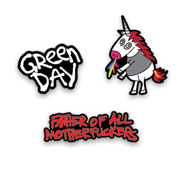[PRE-ORDER] Father of All... Enamel Pin Set + Digital Album