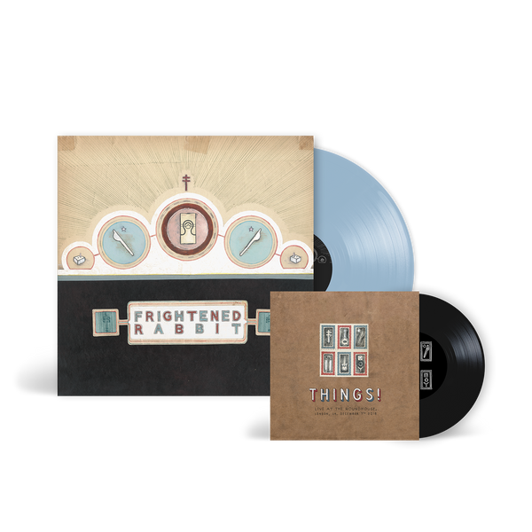 Winter of Mixed Drinks Blue Vinyl and bonus 7