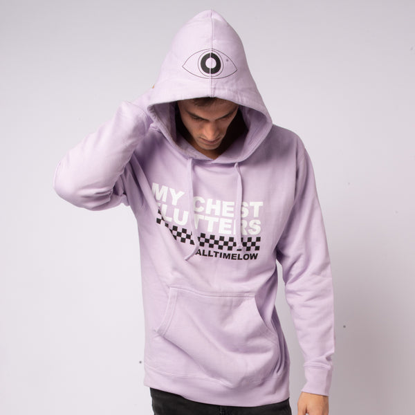 Checkered Hoodie (Lavender)