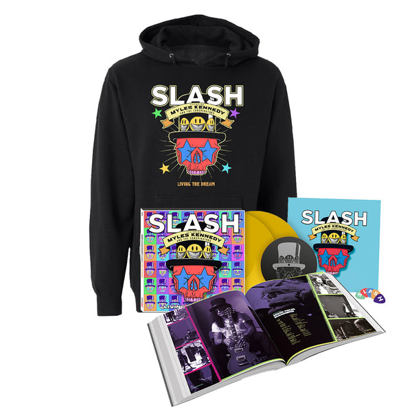 Living The Dream 2LP Deluxe Hardcover Book + Hoodie...