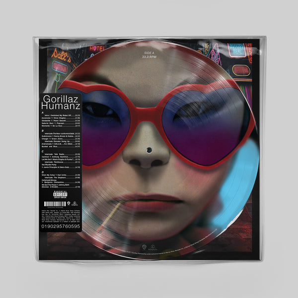 "Humanz Limited Double 12"" Vinyl Picture Disc"