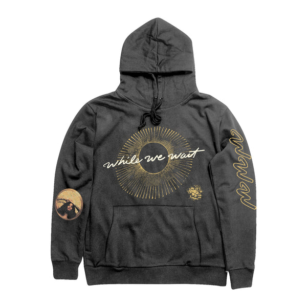 While We Wait Lines Hoodie