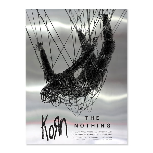 [PRE-ORDER] The Nothing: T-Shirt, Mirrorboard Poster + Music Bundle