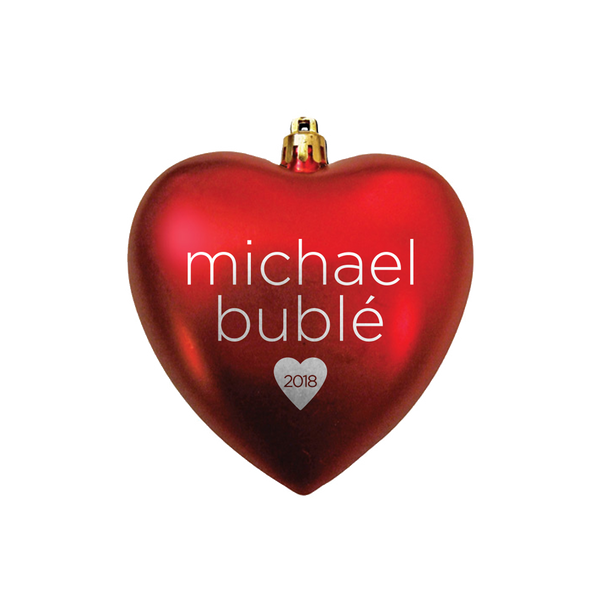 2018 Heart Ornament
