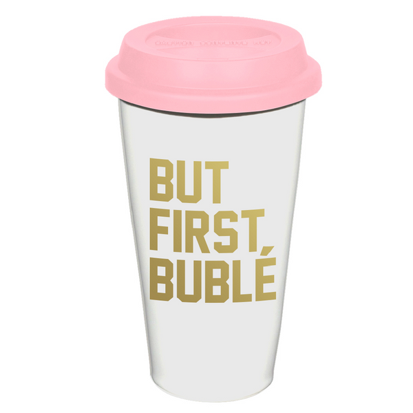 {PRE-ORDER] First Bublé Coffee Tumbler