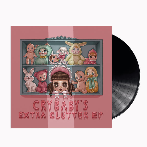 "Cry Baby's Extra Clutter 7"" Vinyl"