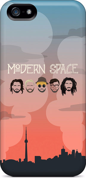Modern Space iPhone Case