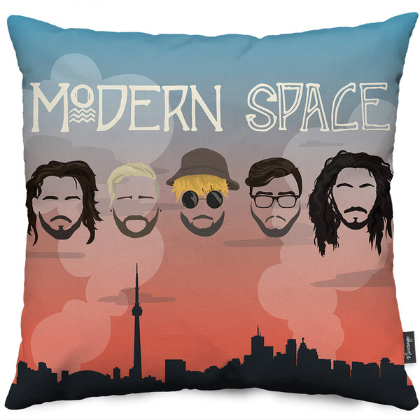 Modern Space Throw Pillow