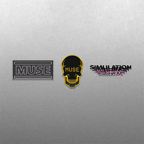 [PRE-ORDER] Simulation Theory Enamel Pin Set