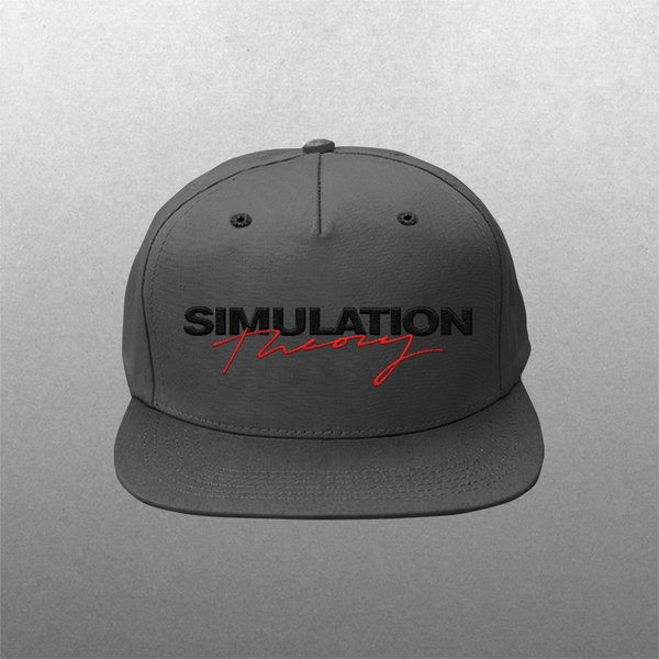 [PRE-ORDER] Simulation Theory Flat Bill Hat