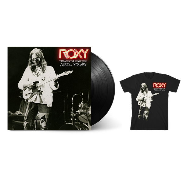 Roxy T-shirt & Vinyl Bundle