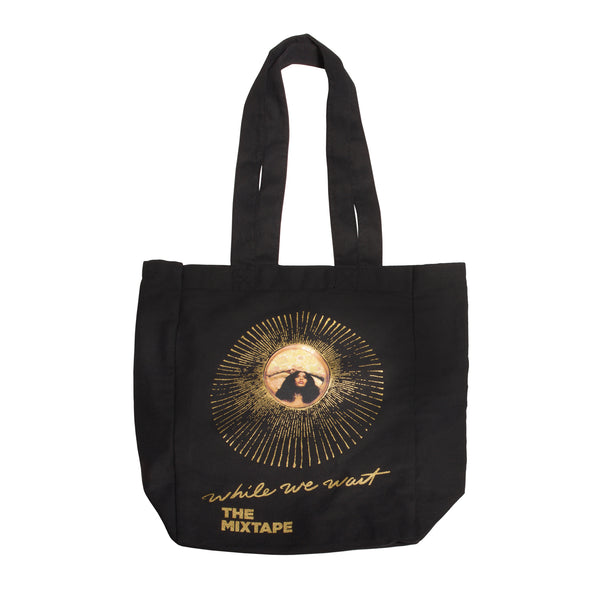 While We Wait Tote Bag
