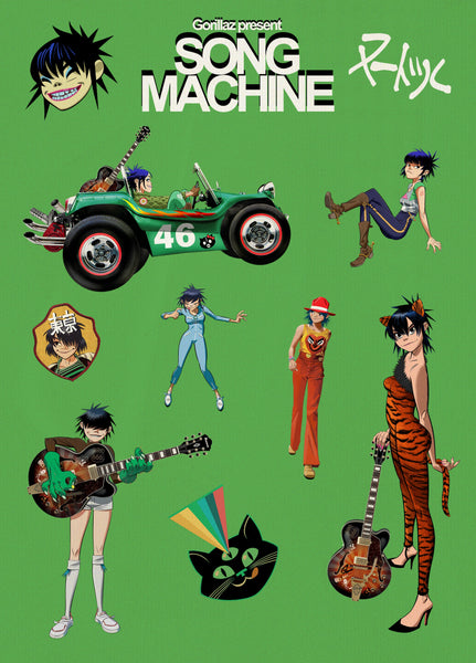 Song Machine Noodle Sticker Pack