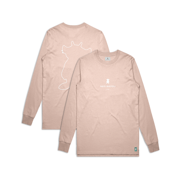 Outline Longsleeve (Peach)