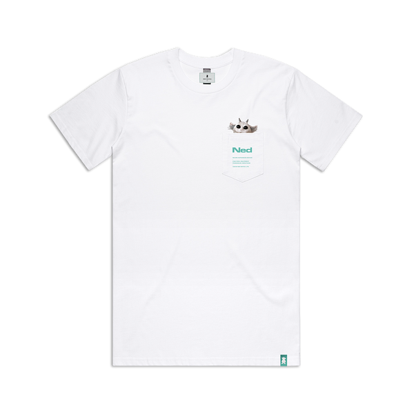 [PRE-ORDER] Pocket T-Shirt (White)