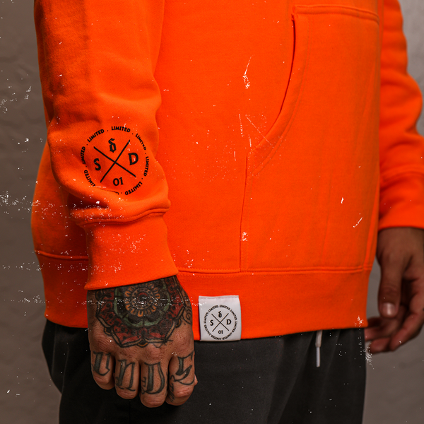 [PRE-ORDER] Call Me A Saint Hoodie (Orange)