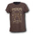 Shot Of Glory Women Brown T-shirt