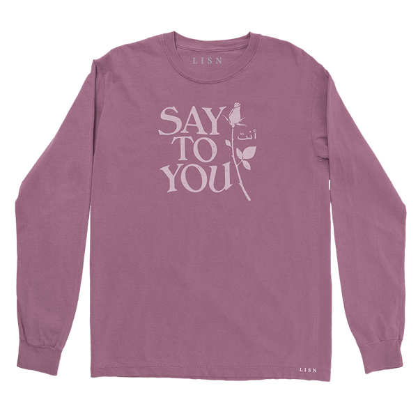 Say to You Longsleeve T-Shirt + YOU  Digital EP