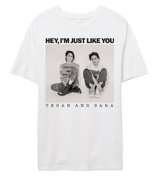 [PRE-ORDER] Hey, I'm Just Like You Album T-Shirt