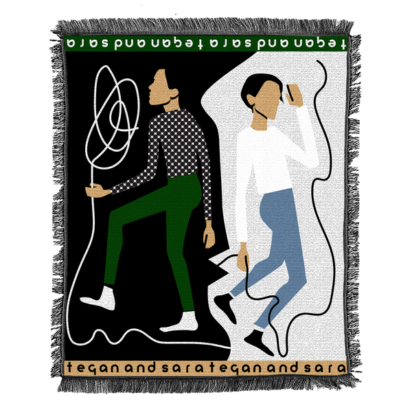 Tegan and Sara Woven Dance Woven Blanket