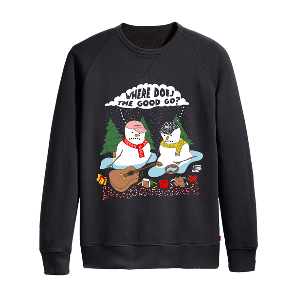 Snowpeople Holiday Sweater