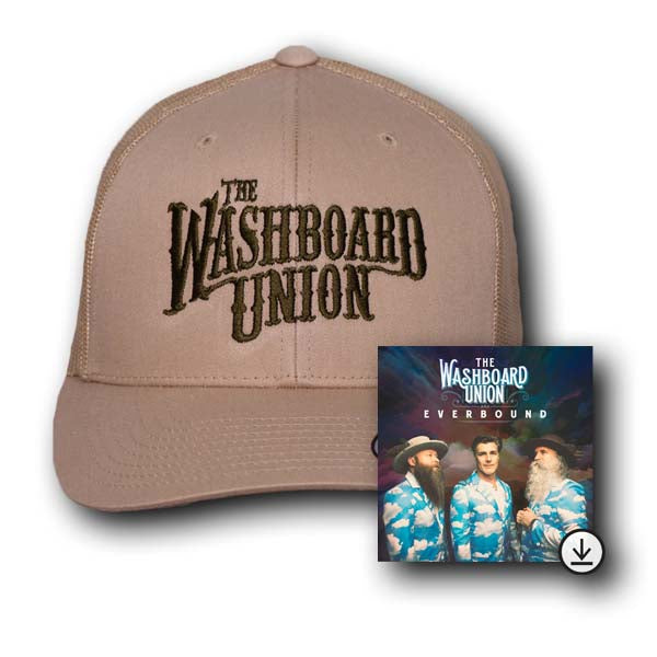 Logo Tan Hat + Digital Album Bundle