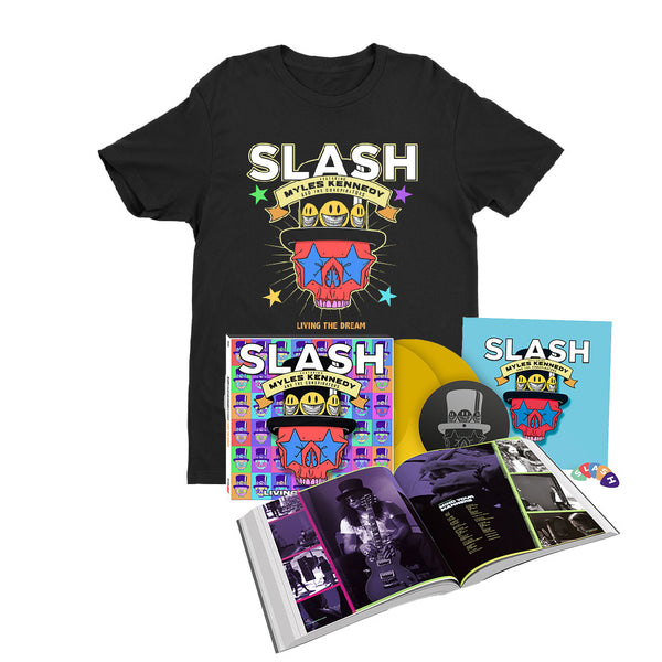 Living The Dream 2LP Deluxe Hardcover Book + T-Shirt...