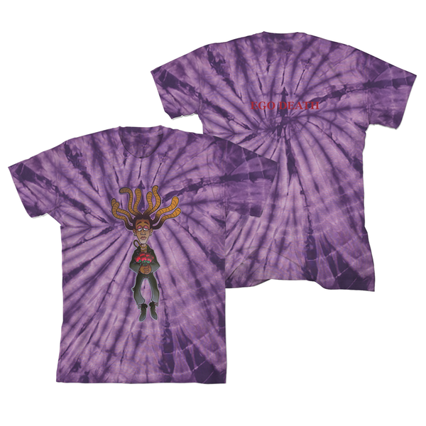 [PRE-ORDER] Ego Death Purple Ty Dye T-shirt