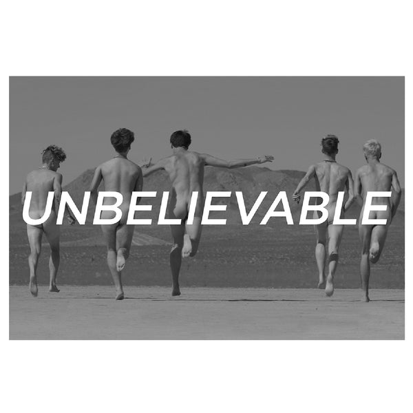[PRE-ORDER] Unbelievable Poster (24x36)