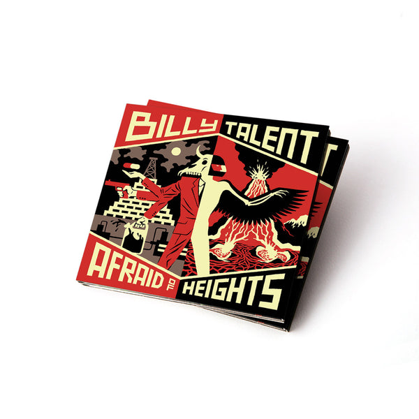 Afraid of Heights Deluxe CD
