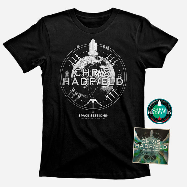 CD, T Shirt & Patch Bundle