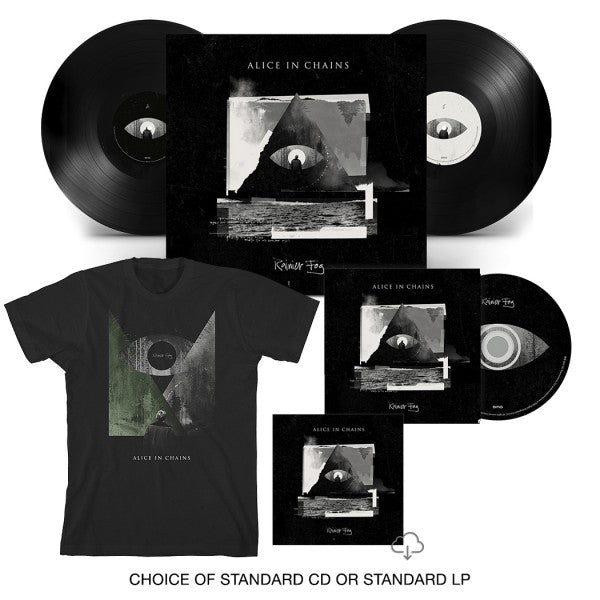 RAINIER FOG CD OR 2XLP + T-SHIRT BUNDLE