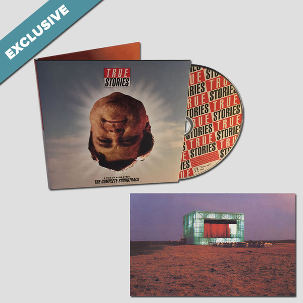 True Stories, A Film By David Byrne: The Complete Soundtrack CD + MP3 + Print Bundle