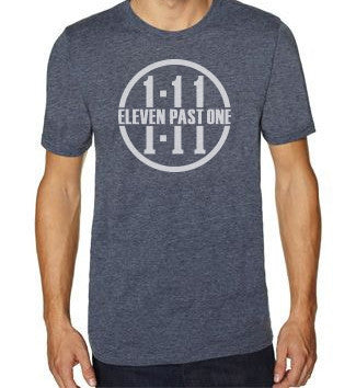 HEATHER BLUE 1:11 T-SHIRT