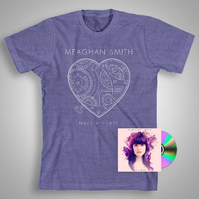 Have A Heart (CD) + Heather Purple T-shirt