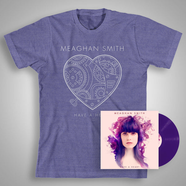 Have A Heart (Special Edition Purple Vinyl with Bonus CD) + Heather Purple T-Shirt