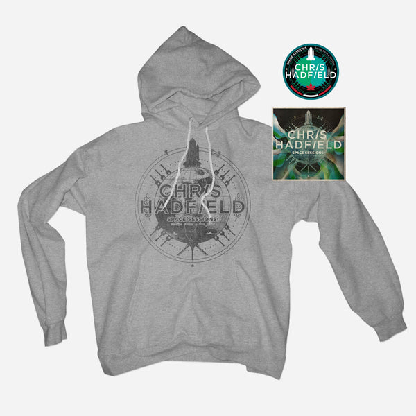 Hoodie, CD & Patch Bundle