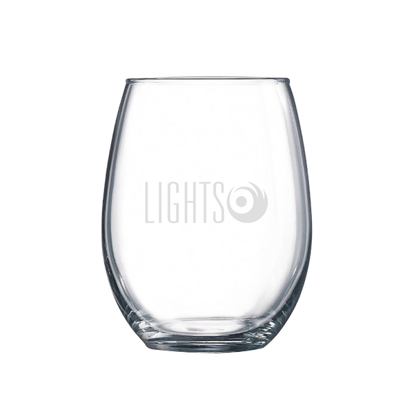 [PRE-ORDER] Lights Custom Etched Wine Glass
