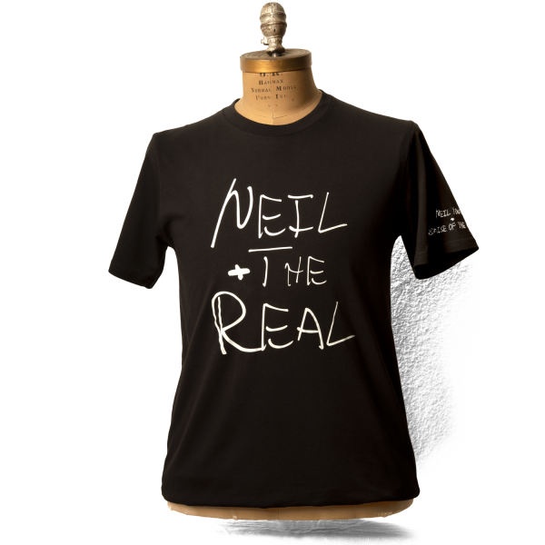 Soft Organic Neil And The Real Name Men's Black T-Shirt