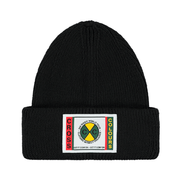 24K CxC Patch Beanie (Black)