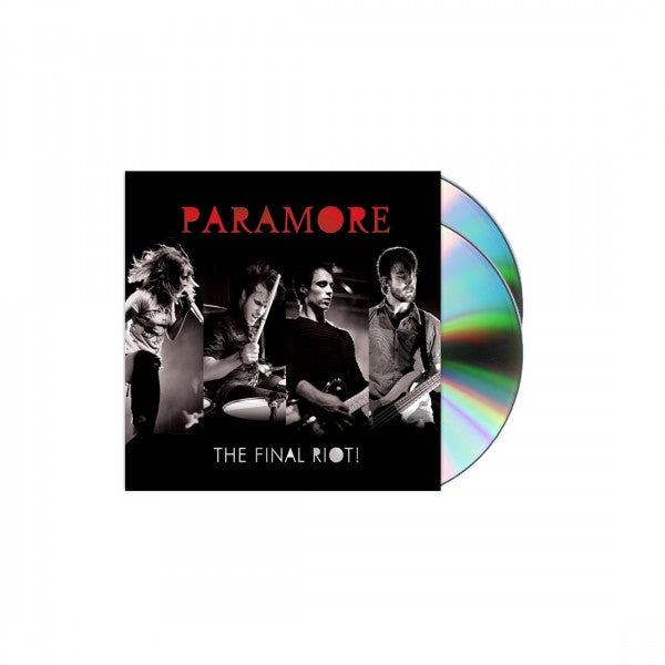 Paramore: The Final RIOT! CD/DVD