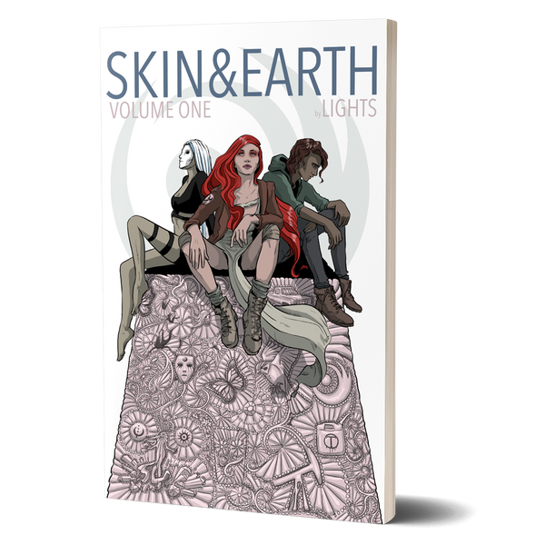 SKIN&EARTH Volume 1 Hard Cover Edition